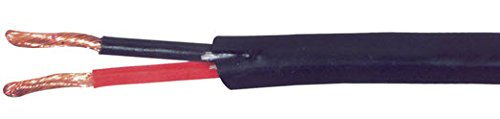 C&E Cne78366 Direct Burial Audio Cable 14 Awg/2 Conductor, 500-Feet, Pull Box, Black