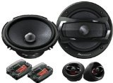 "Pioneer TS-A1605C 6-1/2"" 2-Way TS Series Component Car Speakers System"