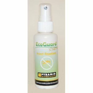 EcoGuard Xtreme Deet Free Spray 120ml