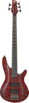 Ibanez SRA505BB SRA 5-String Electric Bass Blackberry