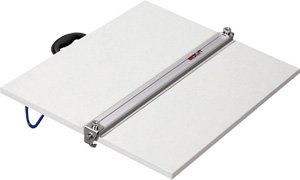 Martin Universal Drawing Board with Parallel Straight Edge Size-Color - 42W x 31D in. - White