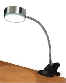 HQ Schreibtischlampe mit Clip, GX5,3, LF20