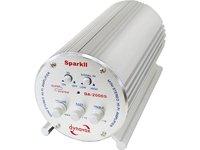 Dynavox Spark II Mini amplificateur stéréo 100 Watts Argent (Import Allemagne)