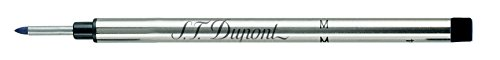 S.T. Dupont Fibre Tip - Ricarica, tratto: M (medio), colore: nero, 2 pezzi