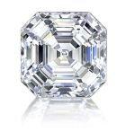 Loose Diamond 3.08 Carat Asscher E VVS1 GIA Certified