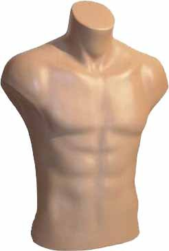 Male Torso Dress Form Mannequin Display Bust Nude (#5027) (Tshirt Tabletop Display compare prices)