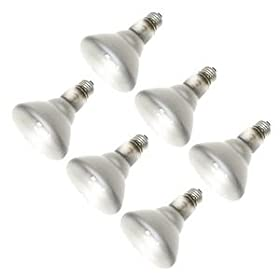 Sylvania Lighting BR30 65w 120-volt Indoor Flood Bulb, 6-Pack