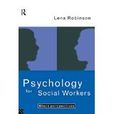 img - for Psychology For Social Workers: Black Perspectives [PAPERBACK] [1995] [By Lena Robinson] book / textbook / text book