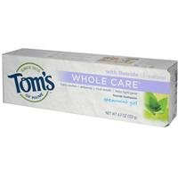 Whole Care Spearmint Tom'S Of Maine 4.7 Oz Gel