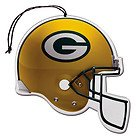 Green Bay Packers NFL Team Logo Car Truck SUV Home Office Paper Air Freshener - 3 PACK SET from LA Auto Gear