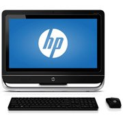 HP Black Pavilion 23-f213w All-In-One Desktop PC