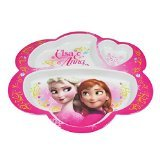 Disney Frozen Elsa and Anna Divided Plate BPA free