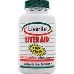 Liver Aid with Milk Thistle - 150 capsules, 2 Pack