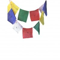 "Tibetan Prayer Flags~ Each Flag Is Printed with Tibetan Prayers~ Approx 4.5"" ..."