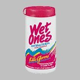 Wet Ones Towelettes Antibacterial 40 front-989742