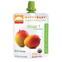 Happy Baby Organic Baby Food 1 Starting Solids,