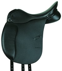 Anky Dressage Saddle - Buffalo Grain