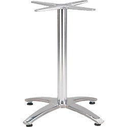 "Aluminum Bar Table Base: 40.5"" Bar Height"