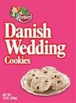 Keebler Danish Wedding Cookies, 12-Oz Boxes (Pack of 12)
