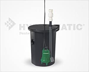 Hydromatic 224 Sewage Package Basin System Assembled