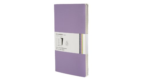 Moleskine Volant Notebook Ruled, Purple Large