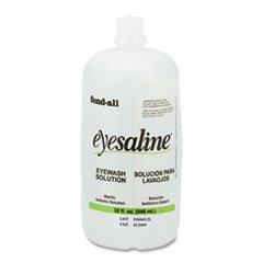 Fendall Eye Wash Saline Solution Bottle Refill, 32 Oz