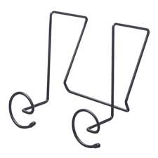 Safco Products Company Products - Panel Coat Hooks, Spiral Shaped, 6-7/8
