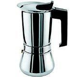 Vev Vigano Vespress Nero 3-Cup Espresso Coffee Maker OH