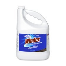 Windex 90940 Powerized Formula Glass Surface Cleaner 1 Gal Bottle