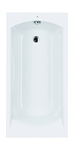 Acryl-Badewanne Barca | 140 x 70 cm | Weiß | Wanne | Badewanne | Bad | Badezimmer | Acryl | Komfort