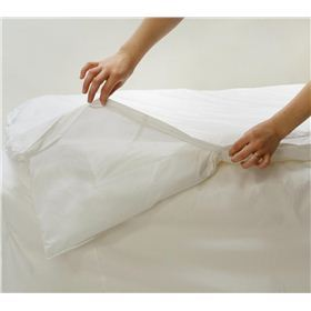 100% Cotton Allersoft tm Full/Queen Duvet