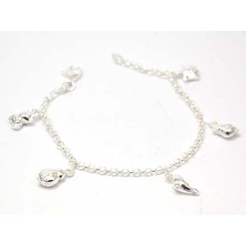 The Olivia Collection Sterling Silver Animal Charm Bracelet