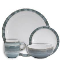 Details for Denby Azure Coast 16 Piece Dinner Set from Denby