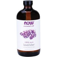 Lavender Oil, 16 OZ by Now Foods (Pack of 4)