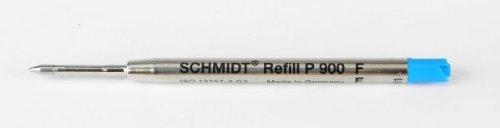 Schmidt Recharge P900 G2 jumbo bleu fine pour stylo bille