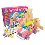 Guidecraft G17210 Wood WorX Beach Buggy