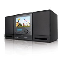 Coby TFDVD7091 7-Inch DVD/MP3/CD Player and ATSC/NTSC TV Tuner, Black
