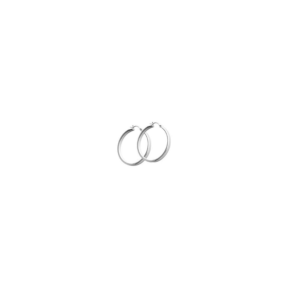 14kt. White Gold, Hoop Earrings Jewelry