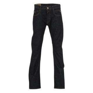 Replay Jimi Bootcut Mens Jeans Dark Denim 34 L30