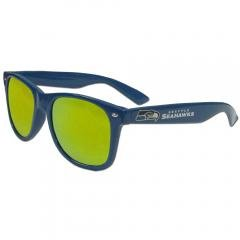 Seattle Seahawks NFL Retro Wayfarer Sunglasses with 400 UVA Yellow Lenses Football... by NFL