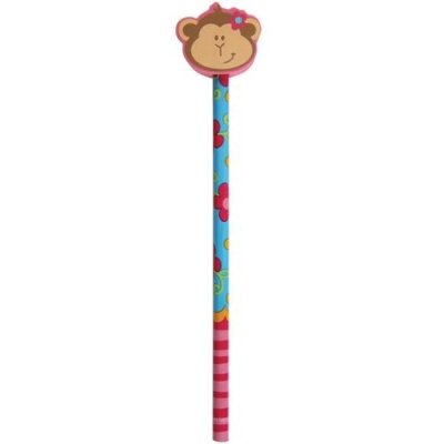 Monkey Girl Doodle Dudes Pencil Party Accessory