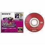 SONY 録画用8cm片面2層式 DL対応 DVD+R(標準55分) 1枚入 DPR55DL