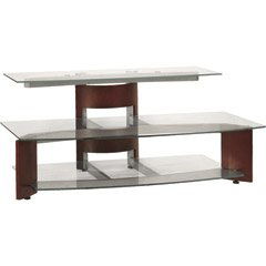 Image of Techcraft BWS250M Mahogony contemporary style TV stand (BWS250M)
