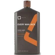 Every Man Jack Citrus Scrub Body Wash, 16.9 Ounce -- 1 Each.