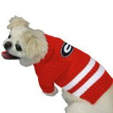 Pets First Collegiate Georgia Bulldogs Pet Sweater, Small (Bulldog Pet Clothing compare prices)