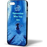 The Lion King Movie Remember Who You Are Simba for Iphone Case (iPhone 6 plus black)