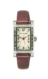 Ted Baker Patent Leather Strap Women's watch #TE2015