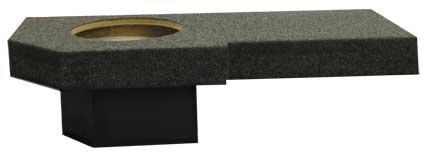 "R/T Single 12"" Dodge Ram Quad Cab '02-'08 Sealed Speaker Box (No 2009)"