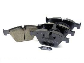 BMW e63 e64 645 650 Brake Pad Set Front CERAMIC Akebono friction linings