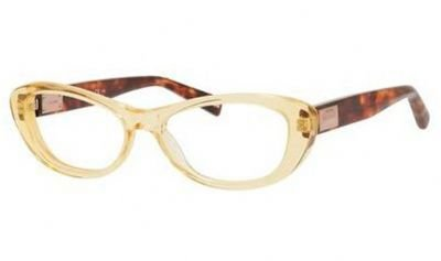 Max Mara MAX MARA Eyeglasses 1172 0Epz Yellow / Red Havana 52MM